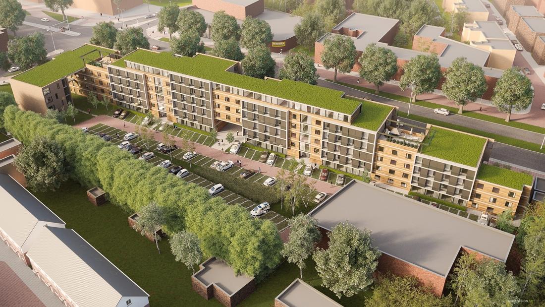 Start werktekeningen Appartementencomplex Boutenslaan Eindhoven