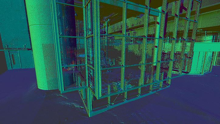 3D-scan in voortraject als basis voor planuitwerking