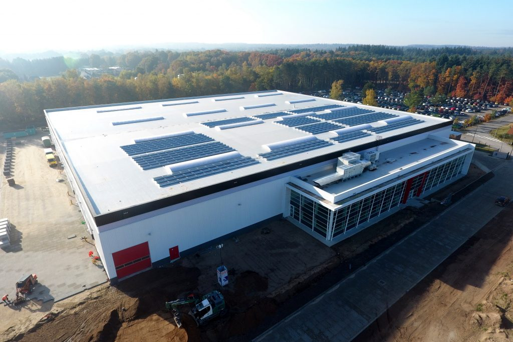 New construction production facility and office, Apeldoorn