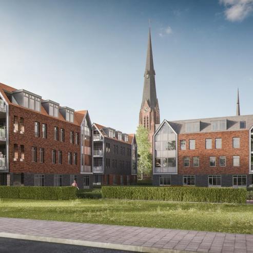 Impressie van Zorgcampus Kerkstraat