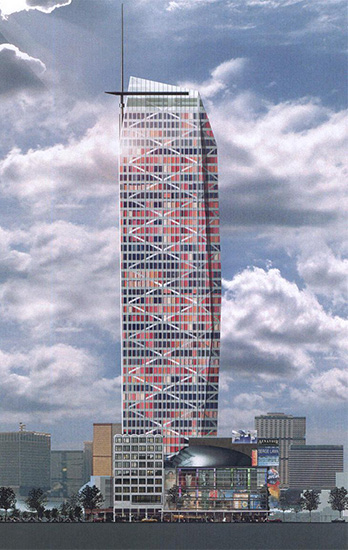 Coolsingel tower, Rotterdam
