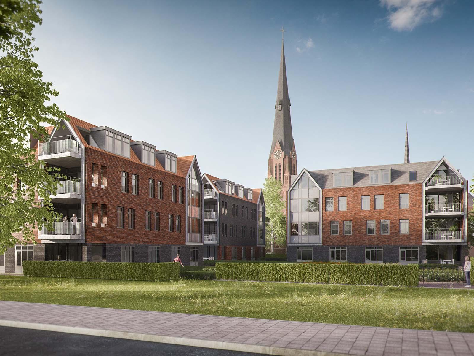 Care campus Kerkstraat- Poortlaan, Wassenaar