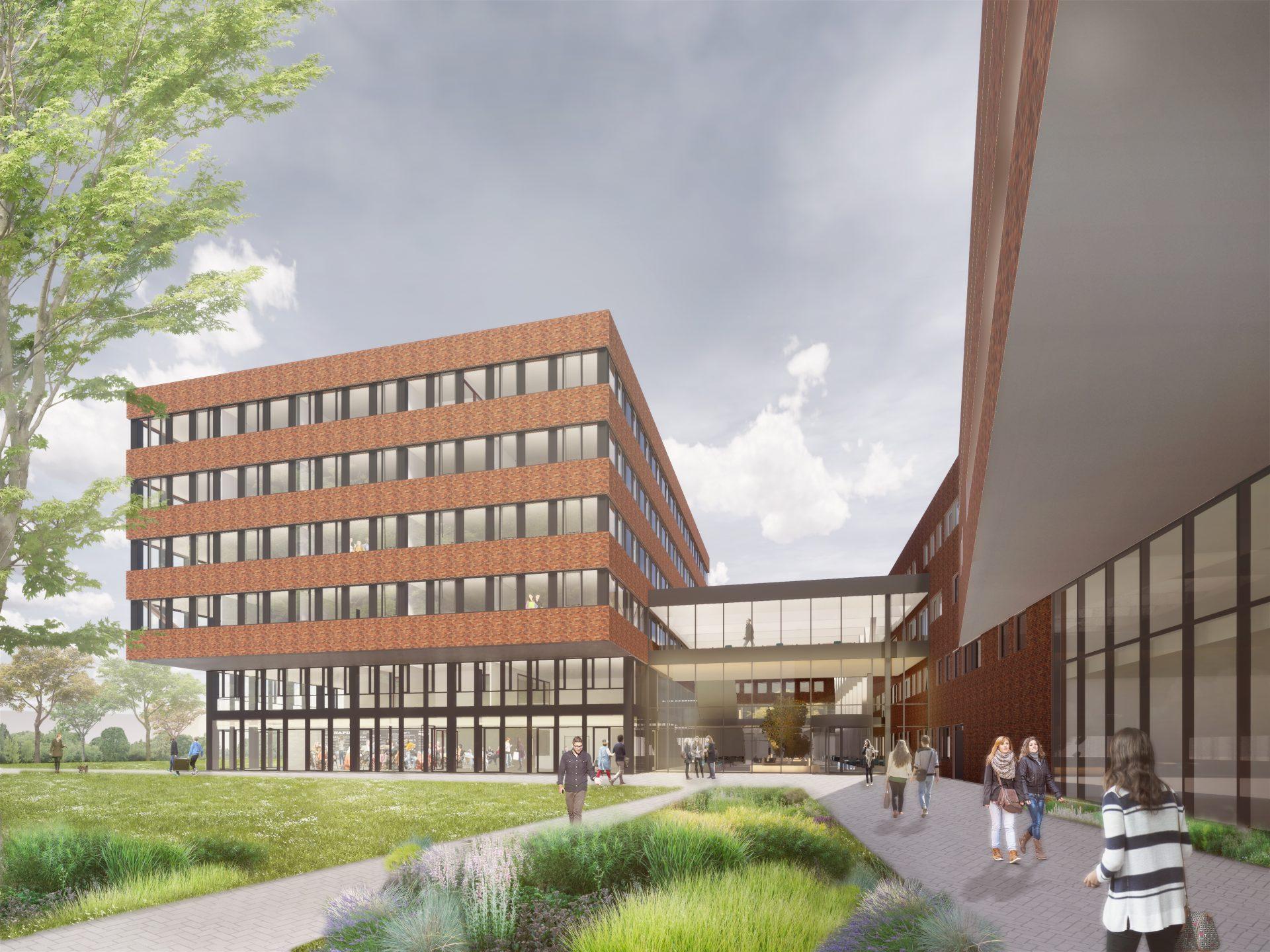 Extension of University of Applied Sciences Leiden, Leiden