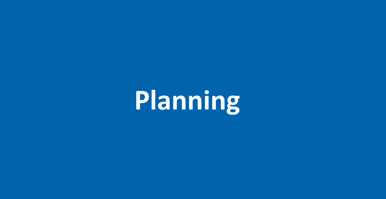 Waarom is een planning zo belangrijk?
