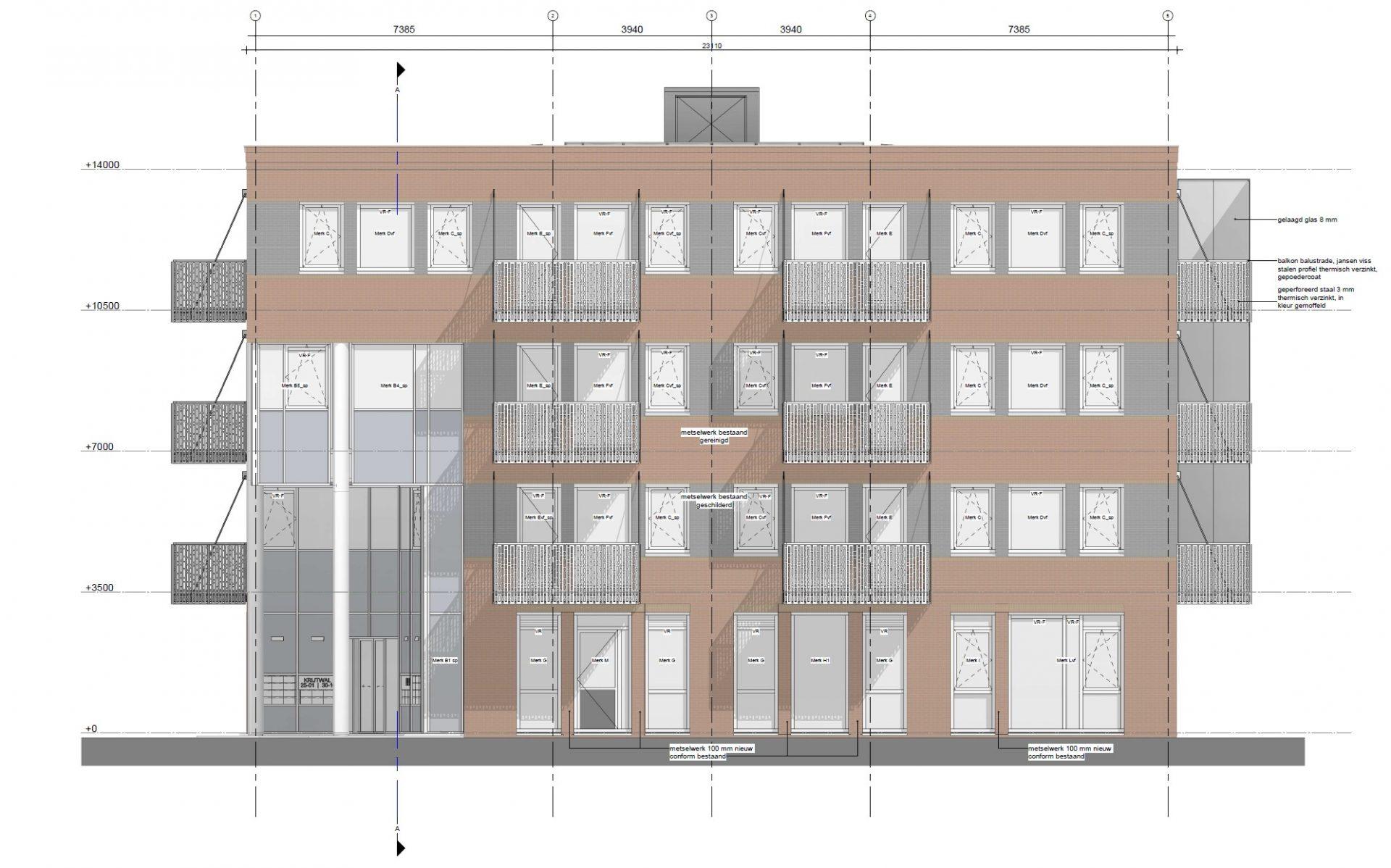 Redevelopment office Krijtwal, Nieuwegein