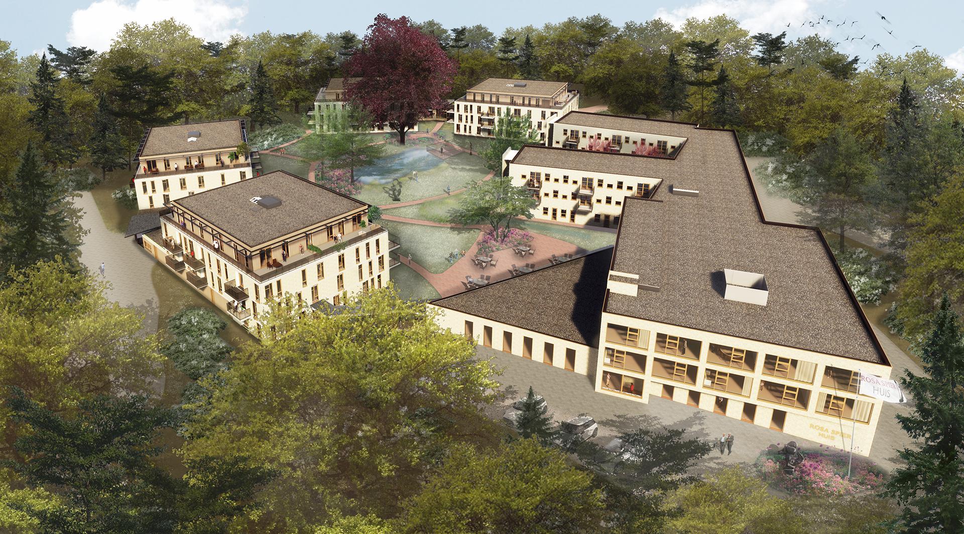 New construction care complex Rosa Spier Huis, Laren