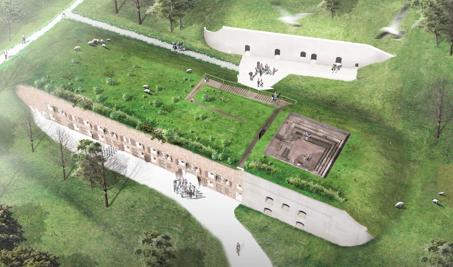 Fort Sabina, Moerdijk