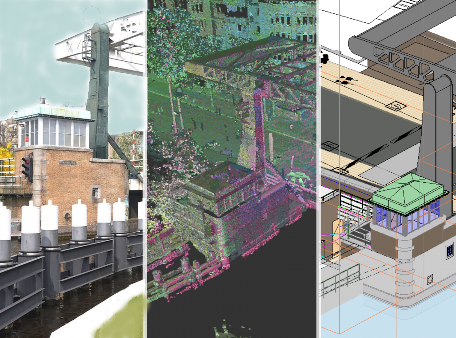 3D scan in the preliminary phase as a basis for plan development