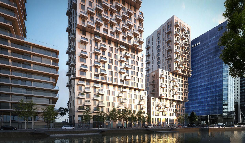 Bureau Bouwkunde Nederland ondersteunt het bouwteam 'Boompjes Rotterdam' door middel van BIM coördinatie.