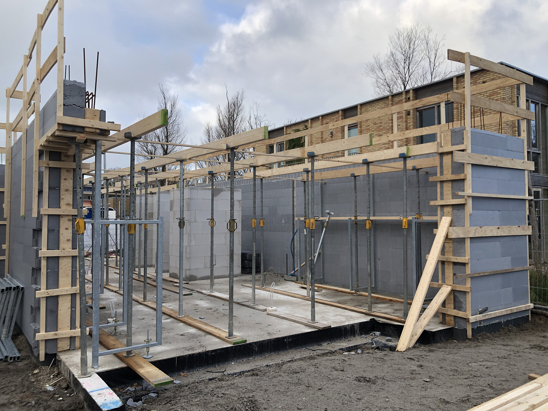 Energieneutrale woning in Kijkduin in uitvoering