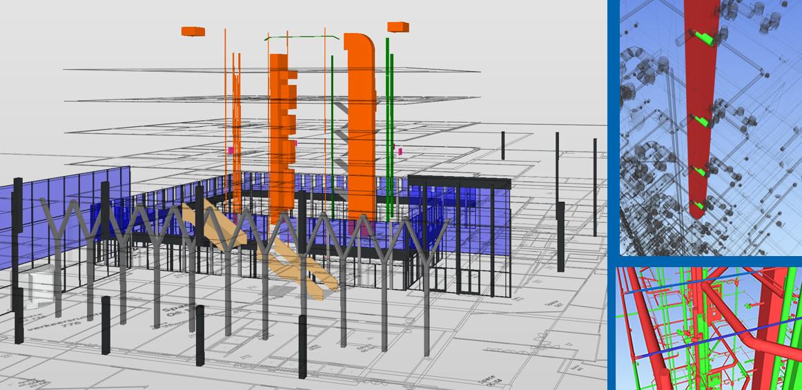 BIM coördinatie en clashcontrole onmisbaar in efficiënt bouwproces