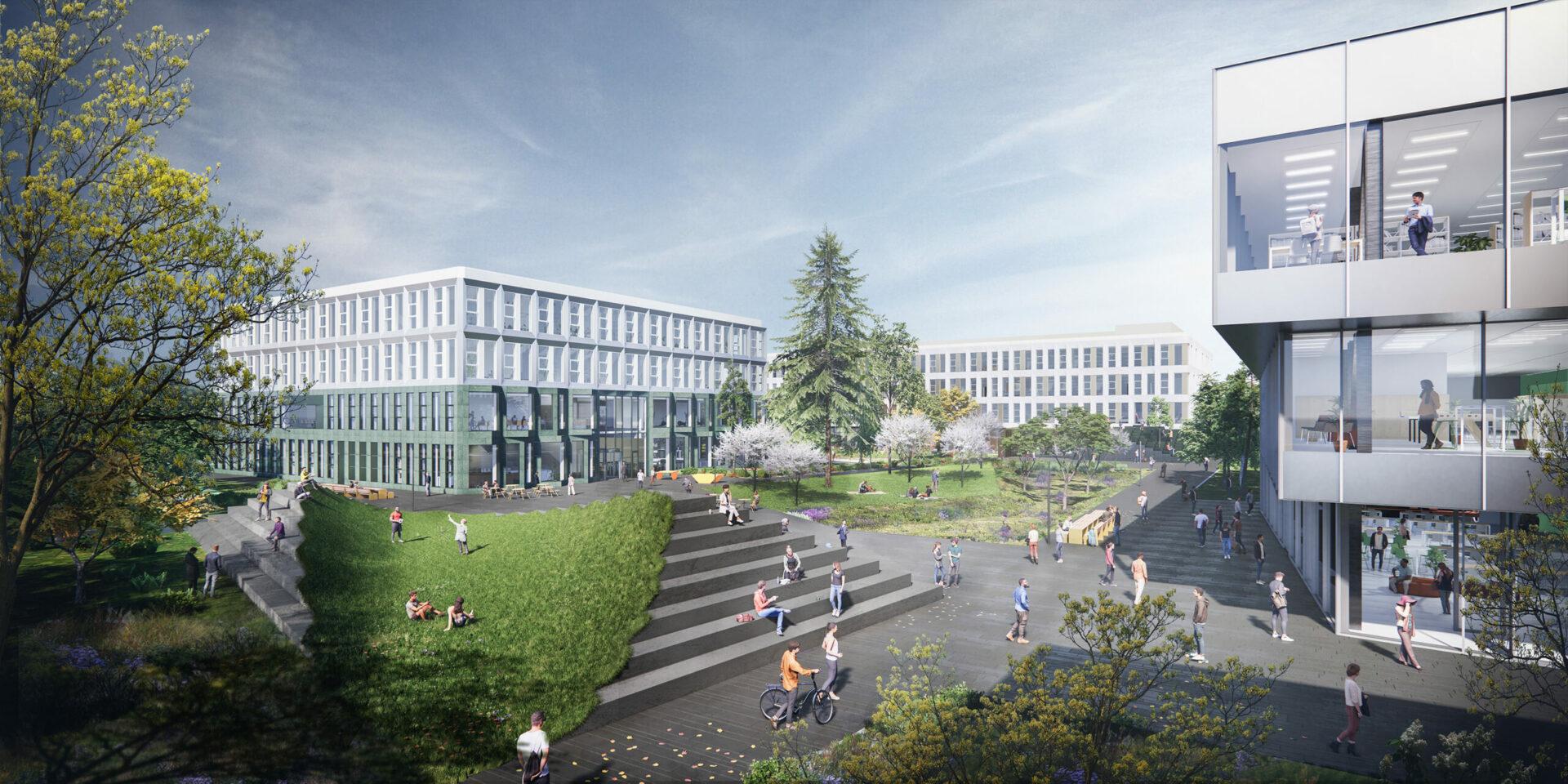 Uitwerking Uitvoeringsgereed Ontwerp (UO) nieuwbouw Fontys Hogeschool Eindhoven